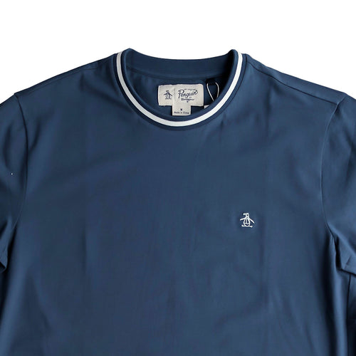 Original Penguin Tipped Core T-Shirt Sargasso Sea