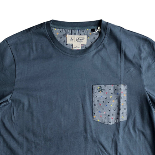 Original Penguin Planes Pocket Floral T-Shirt