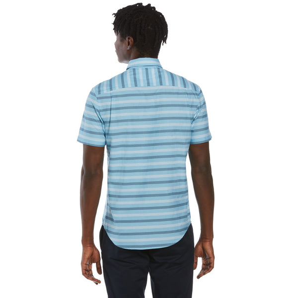 Original Penguin Horizontal Stripes Woven Shirt