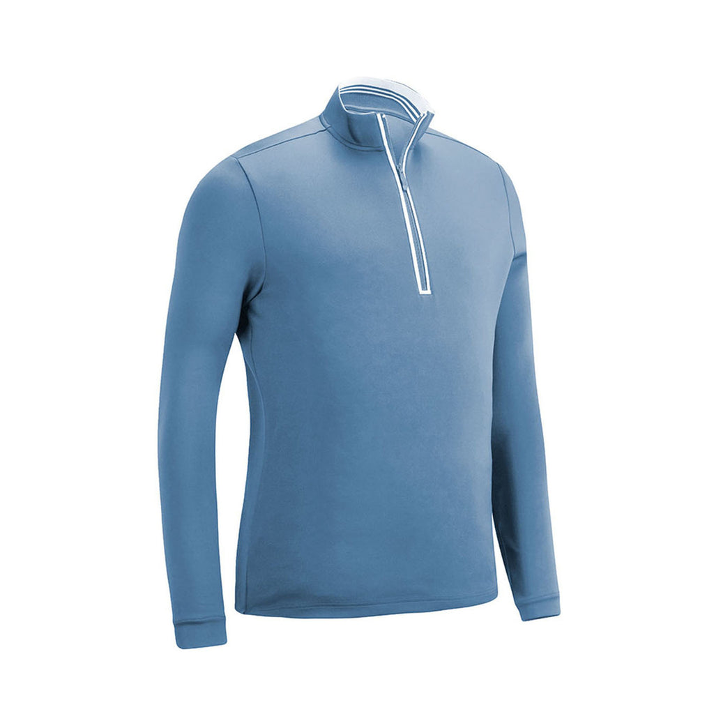 Original Penguin Clubhouse Mock Golf Pullover  - Regatta - ANTHEM