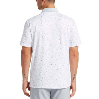 Original Penguin Spelling Pete Printed Polo - Bright White - ANTHEM