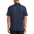 Original Penguin Spelling Pete  Printed Polo Shirt - Black Iris - ANTHEM