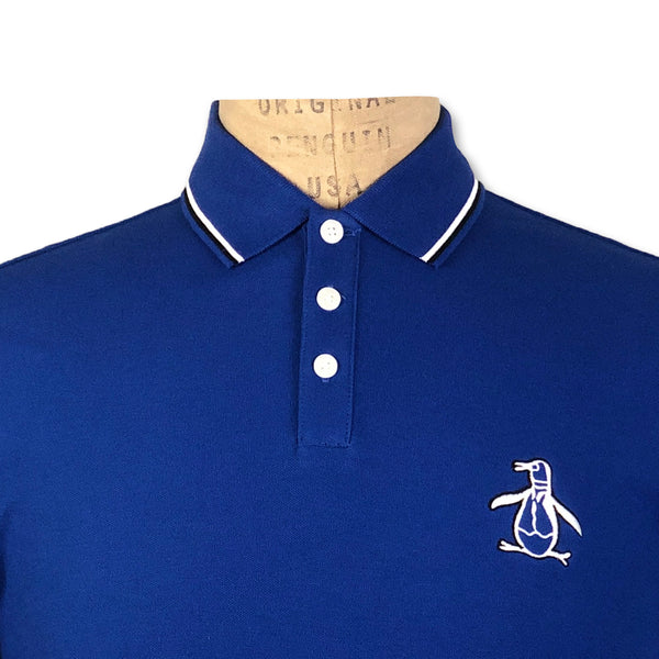 Original Penguin Mega Pete Polo Shirt - Sodalite Blue