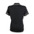 Original Penguin Womens Veronica Pointed Collar Polo Shirt - True Black