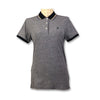 Original Penguin Womens Tipped Birdseye Polo Shirt - Dark Sapphire