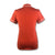 Original Penguin Womens Veronica Pointed Collar Polo Shirt - Ketchup