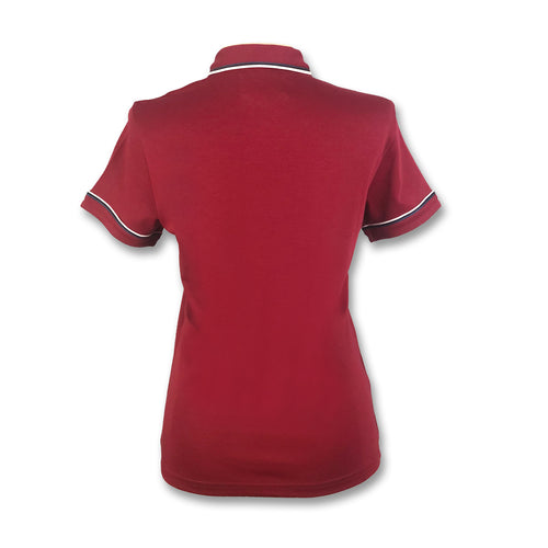 Original Penguin Womens Earl 3D Polo Shirt - Biking Red