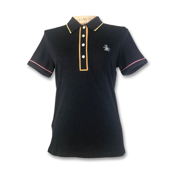 Original Penguin Womens Veronica Festival Polo Shirt - Dark Sapphire