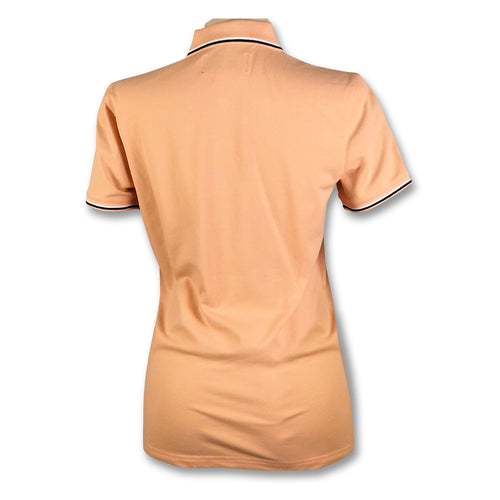 Original Penguin Womens Mega Pete Polo Shirt - Coral Sands