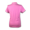 Original Penguin Womens Veronica Pointed Collar Polo Shirt - Fuchsia Pink