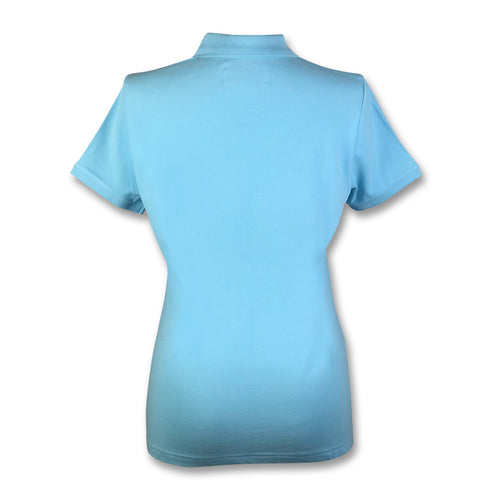 Original Penguin Womens Slim Fit Polo Shirt - Blue Topaz