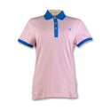 Original Penguin Womens Contrast Collar Polo Shirt - Parfait Pink