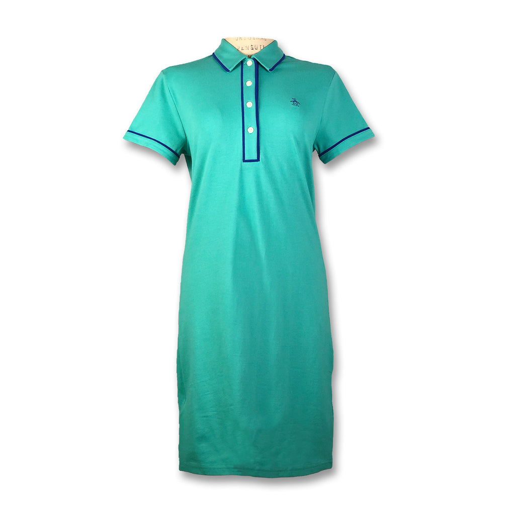 Original Penguin Womens Veronica Dress - Bright Aqua