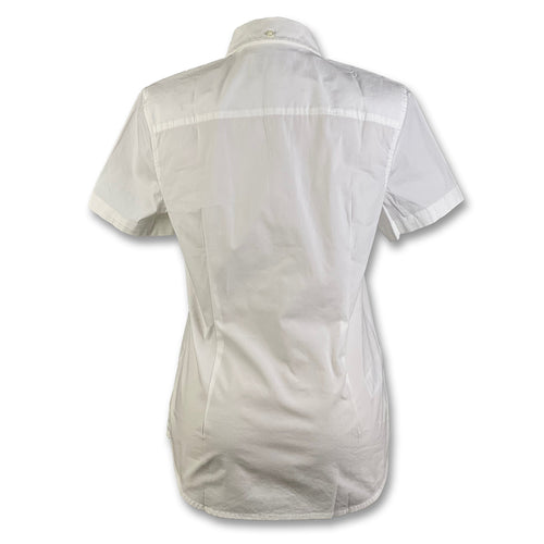 Original Penguin Womens Core Poplin Woven Shirt - Bright White