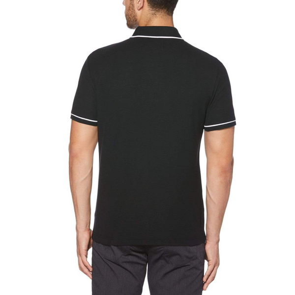 Original Penguin Earl Basic Polo Shirt - True Black