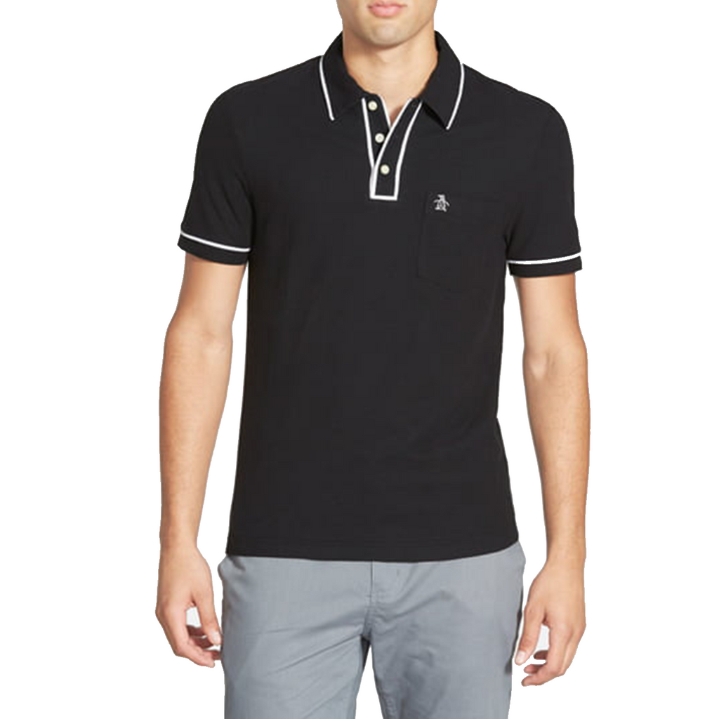 Original Penguin Earl Basic Polo Shirt - Caviar