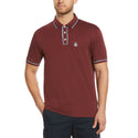 Original Penguin The Earl 3D Polo Shirt - Tawny Port