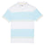 Original Penguin Engineered Rugby Stripe Polo Shirt - Bright White - ANTHEM