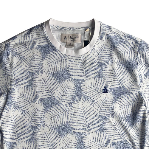 Original Penguin Printed Cotton Jersey T-Shirt