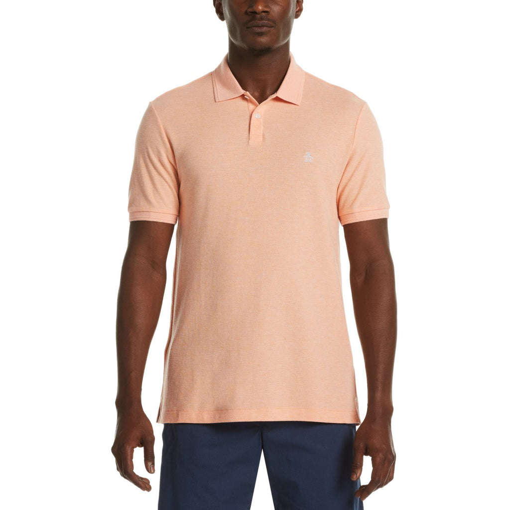 Original Penguin Daddy-O 2.0 Polo Shirt Coral Sands - ANTHEM
