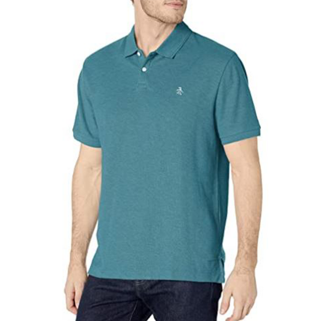 Original Penguin Daddy O 2.0 Classic Fit Polo Shirt - Storm Blue