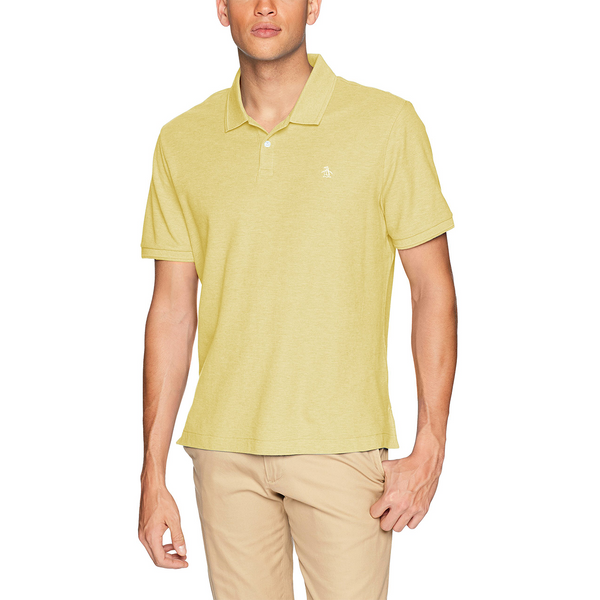 Original Penguin Daddy-O 2.0 Classic Fit Polo Shirt - Tender Yellow