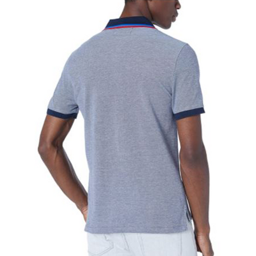 Original Penguin Tipped Birdseye Polo Shirt - Dark Sapphire