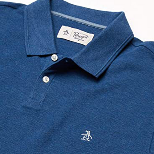 Original Penguin Daddy-O 2.0 Classic Fit Polo Shirt - Dark Denim