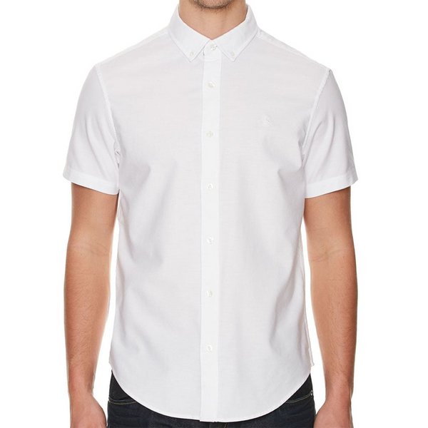 Original Penguin New Basic Oxford Stretch Woven Shirt - Bright White