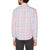 Original Penguin Space Dye Plaid Long Sleeve Woven Shirt - Bright White - ANTHEM
