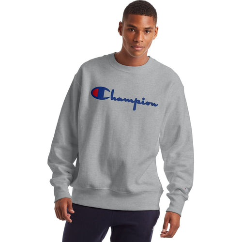 Champion USA Reverse Weave Crew Neck Long Sleeve Sweatshirt