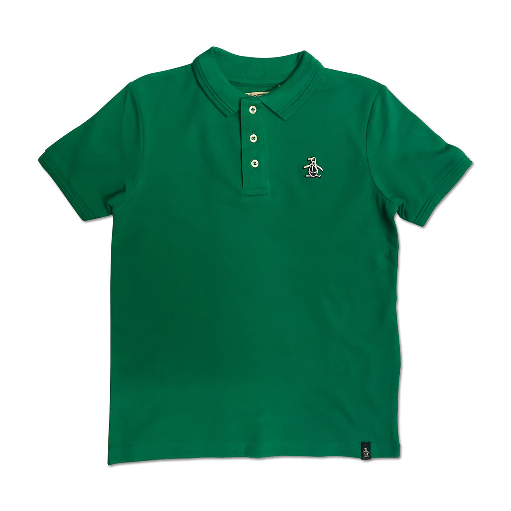 Original Penguin Boys Raised Tipped Polo Shirt - Bosphorus - ANTHEM