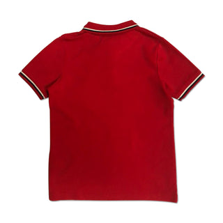 Original Penguin Boys Contrast Tipping Polo Shirt - Lipstick Red - ANTHEM