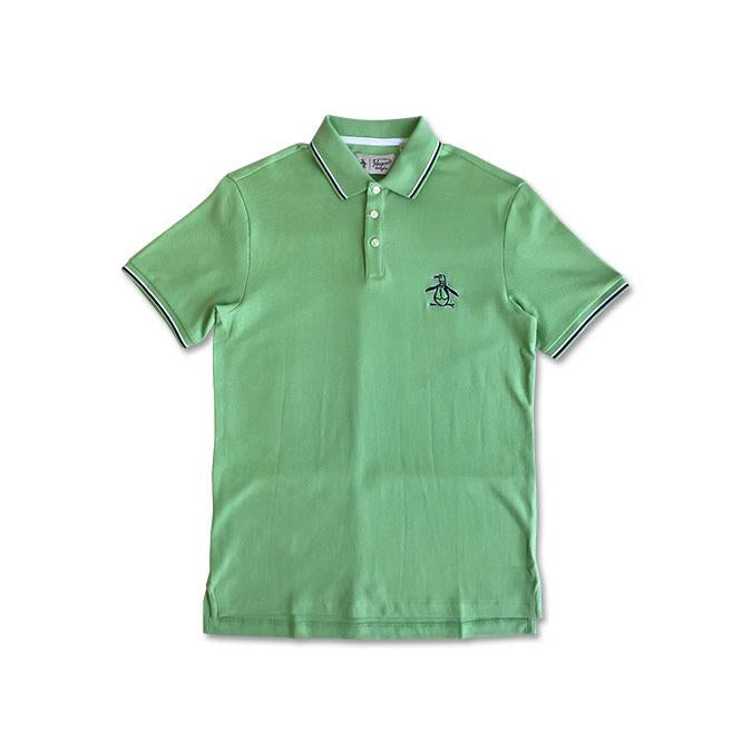 Original Penguin Mega Pete Polo Shirt Meadow - ANTHEM