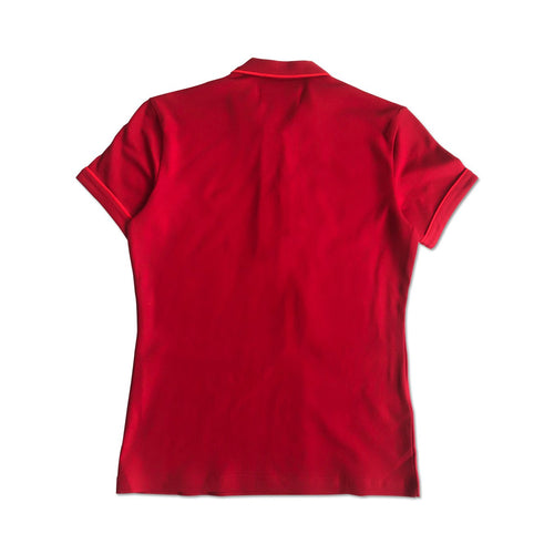Original Penguin Womens Veronica Pointed Collar Polo Shirt Red - ANTHEM
