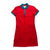 Original Penguin Womens Contrast Collar Dress High Risk Red - ANTHEM