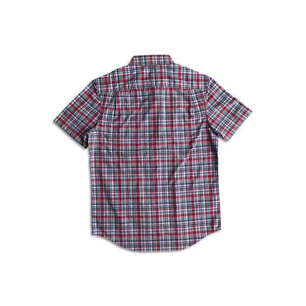 Original Penguin Ox Multi Color Gingham Short Sleeve Woven Shirt - ANTHEM