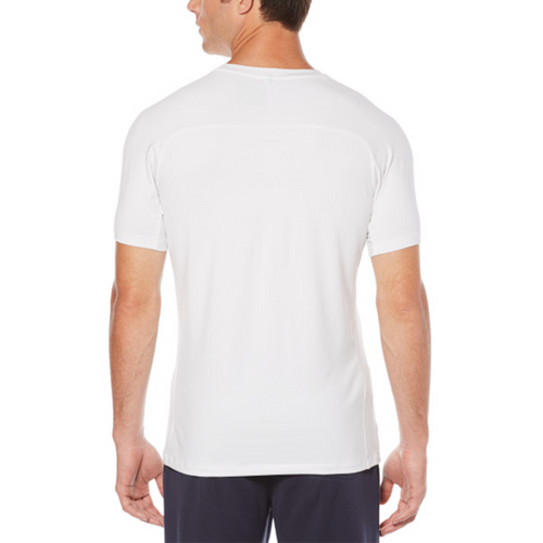 Perry Ellis Spandex Crewneck 360 Collection T-Shirt - Bright White - ANTHEM