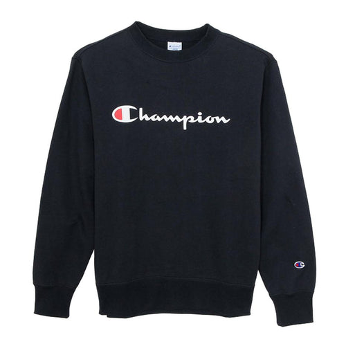 Champion Japan Mens Crew Neck Sweatshirt Navy - ANTHEM