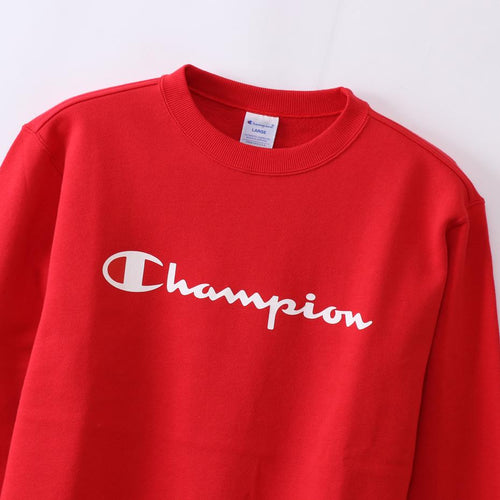 Champion Japan Mens Crew Neck Sweatshirt Red - ANTHEM