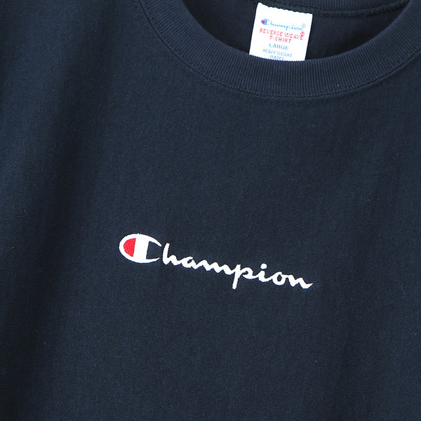 Champion Japan Reverse Weave T-Shirt - Navy