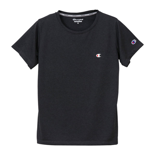 Champion Japan Womens C Vapor T-Shirt - Black