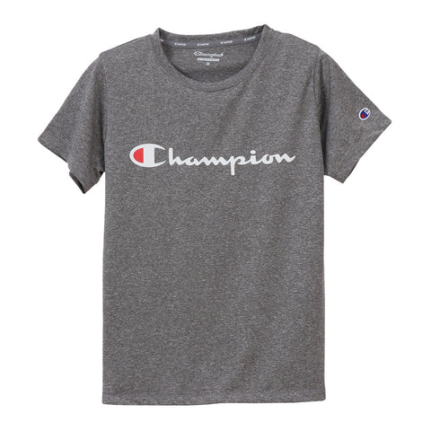 Champion Japan Womens C Vapor T-Shirt - Charcoal