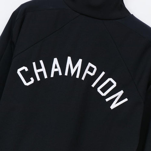 Champion Womens Full Zip Jacket Black - ANTHEM