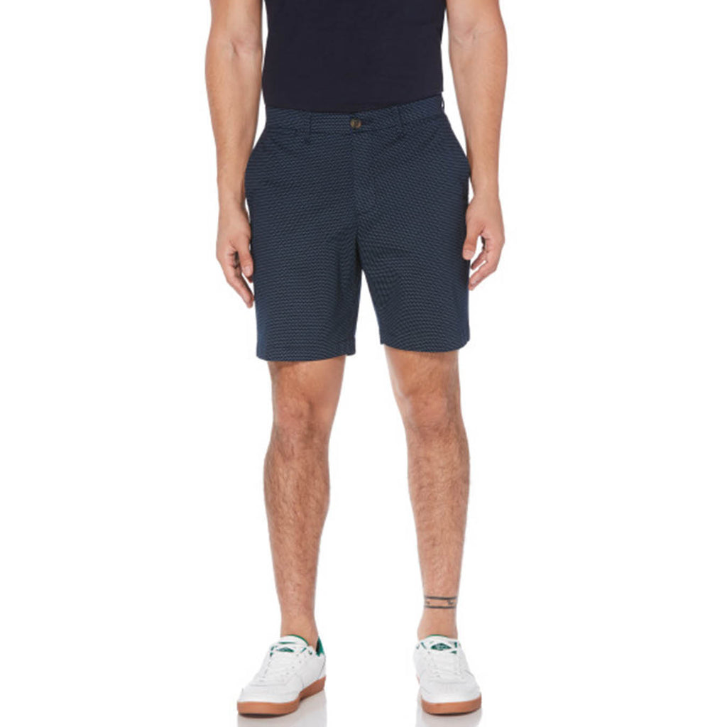 "Original Penguin 8"" Slim Dobby Shorts Dark Sapphire - ANTHEM"