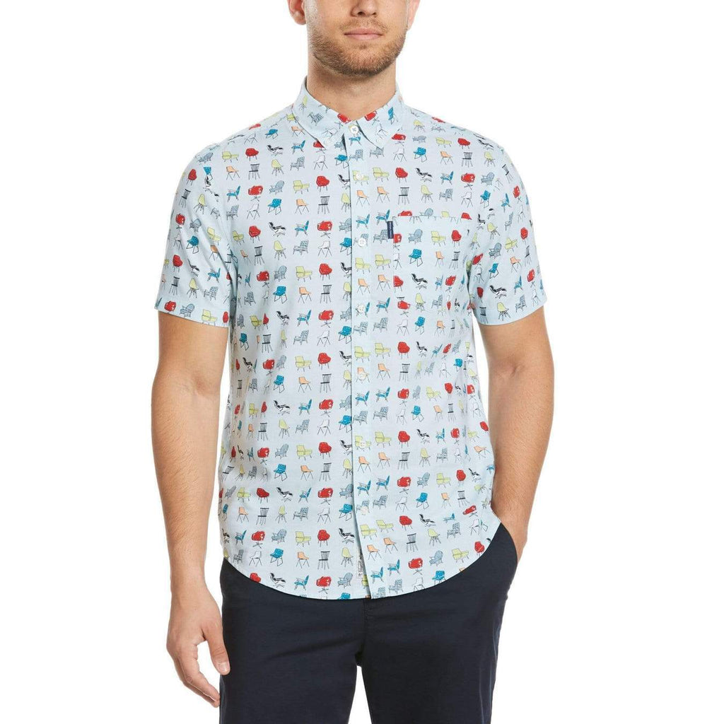 Original Penguin Chairs Short Sleeve Woven Shirt - ANTHEM
