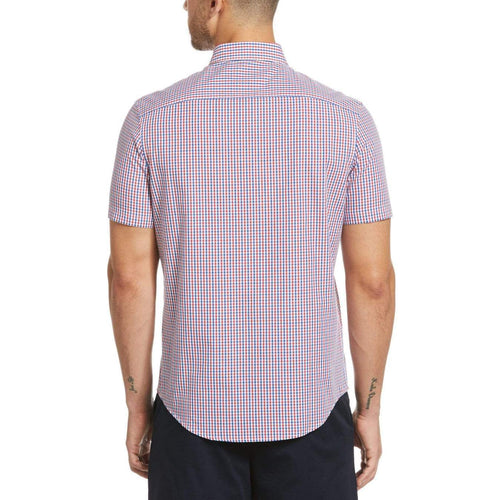 Original Penguin Gingham Short Sleeve Woven Shirt - ANTHEM