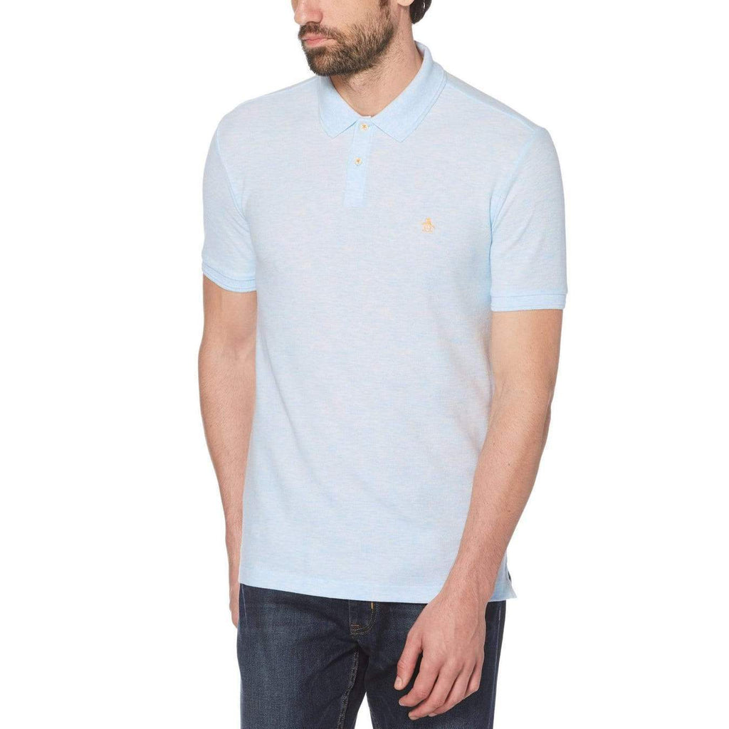Original Penguin Daddy-O 2.0 Polo Shirt Ballad Blue - ANTHEM