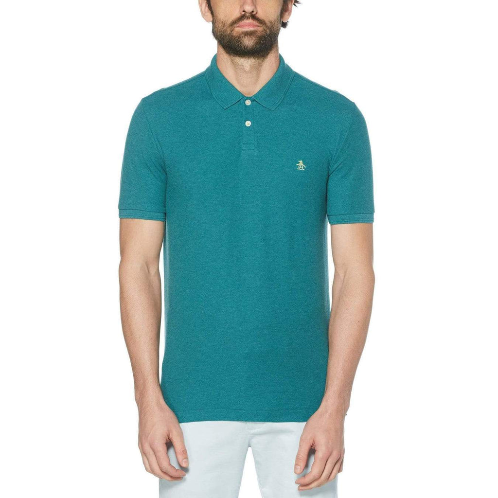 Original Penguin Daddy-O 2.0 Polo Shirt Deep Lake - ANTHEM