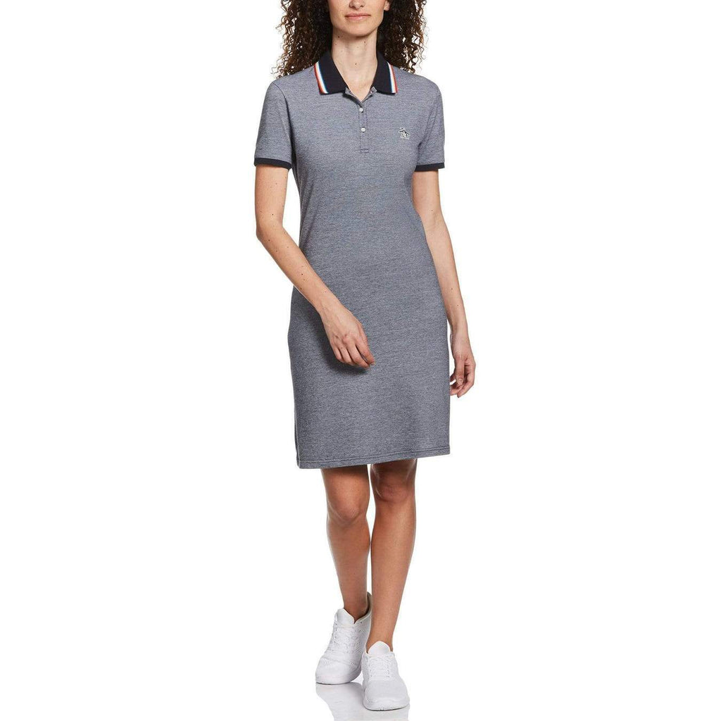 Original Penguin Womens Sticker Pete Dress Dark Sapphire - ANTHEM